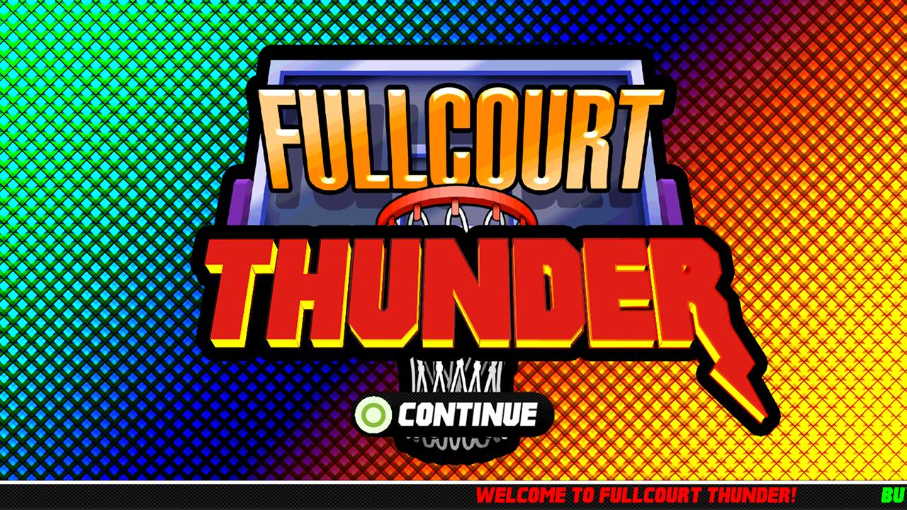 Screenshot of Fullcourt Thunder