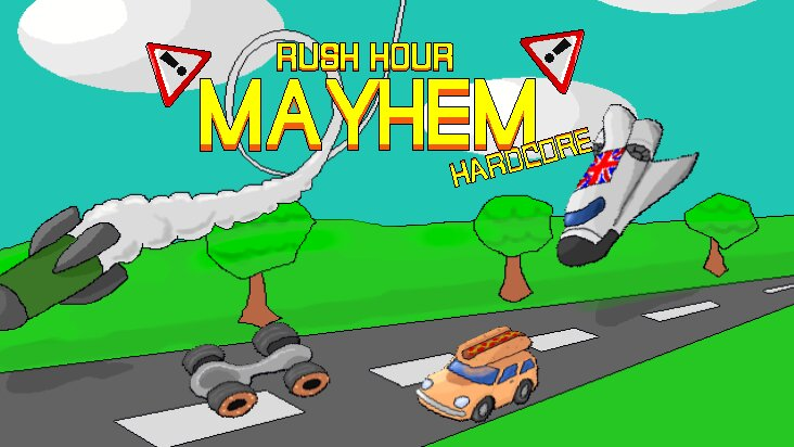 Screenshot of ../game/com.monsterfingergames.rushhourmayhem.htm