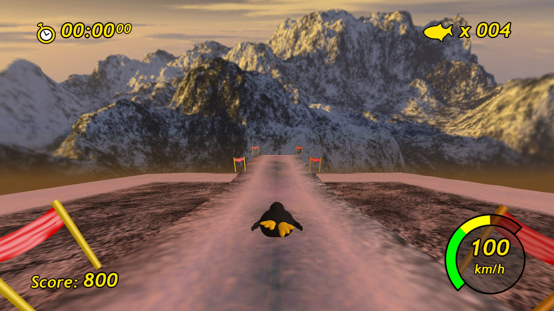 Screenshot of Tux Racer