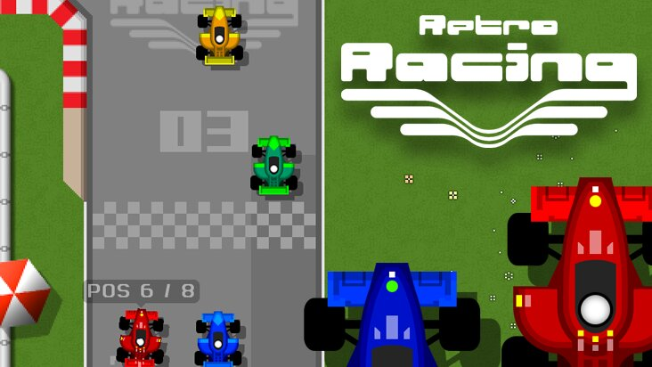 Screenshot of ../game/com.mrqwak.retroracing.htm