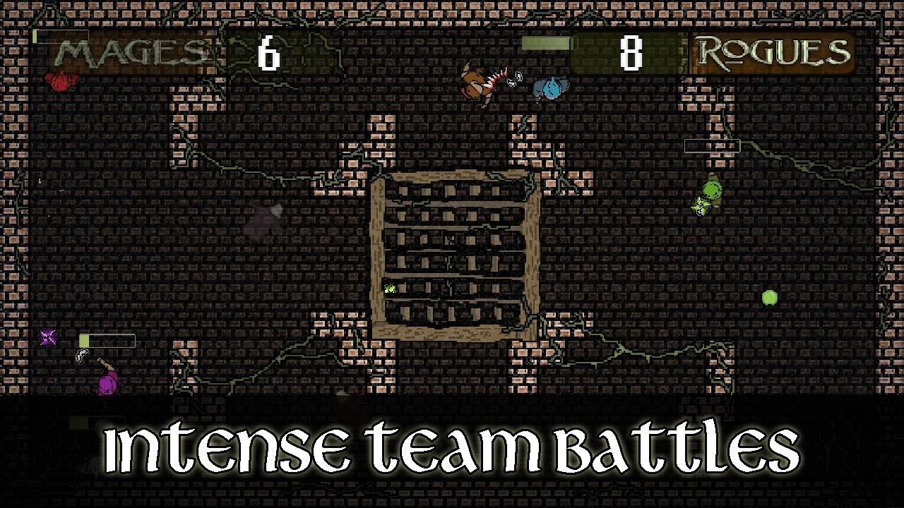 Screenshot of Mages and Rogues
