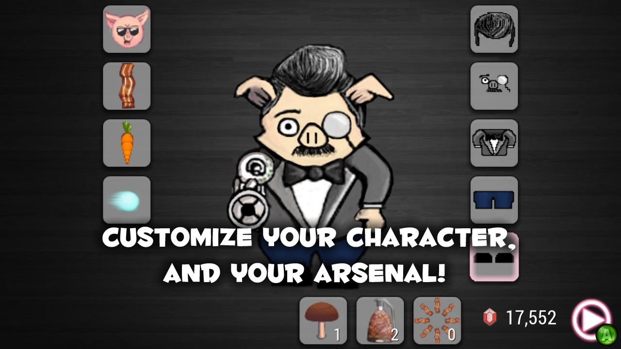 Screenshot of Pork Chop Hero
