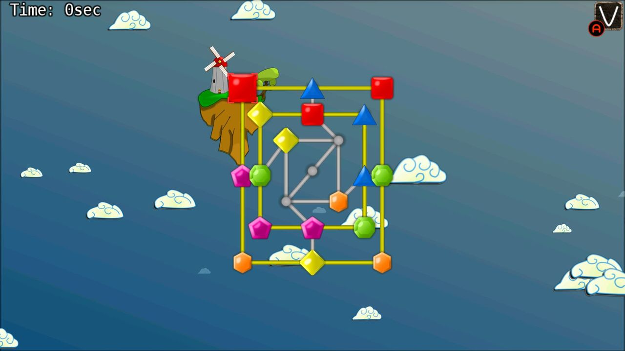 Screenshot of JewelMill: Sky island