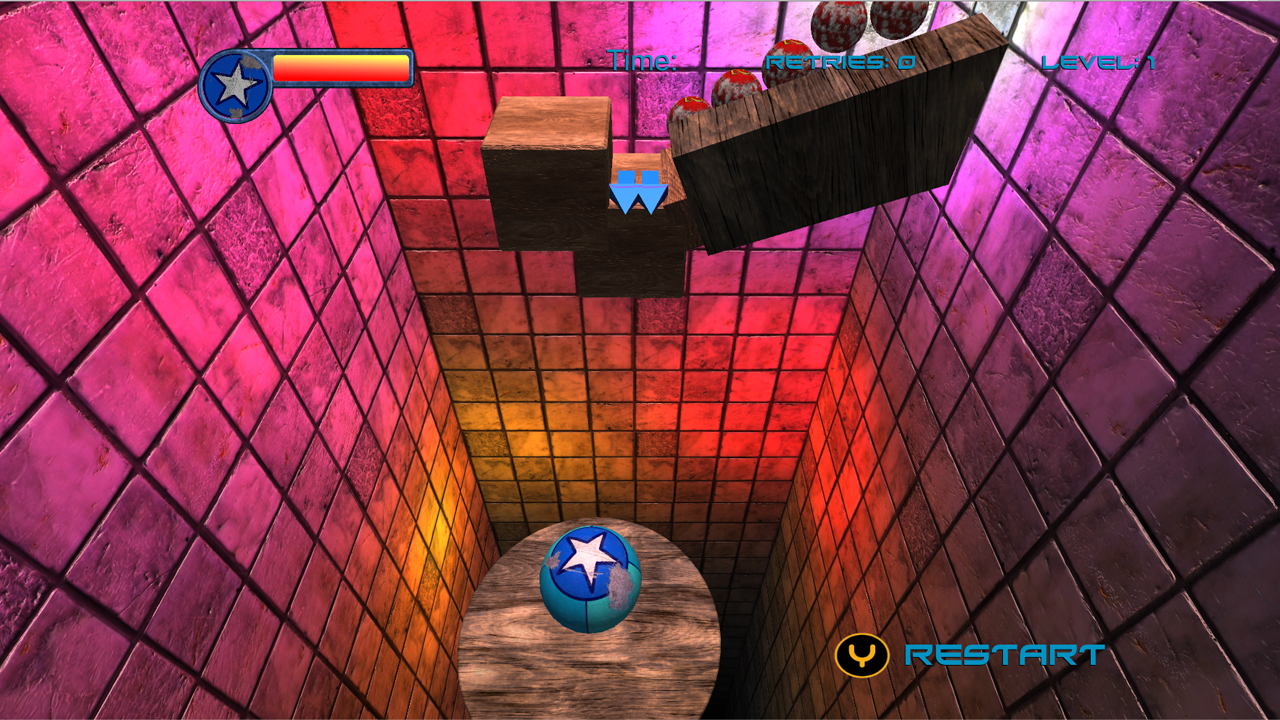 Screenshot of Marble Masters: The Pit