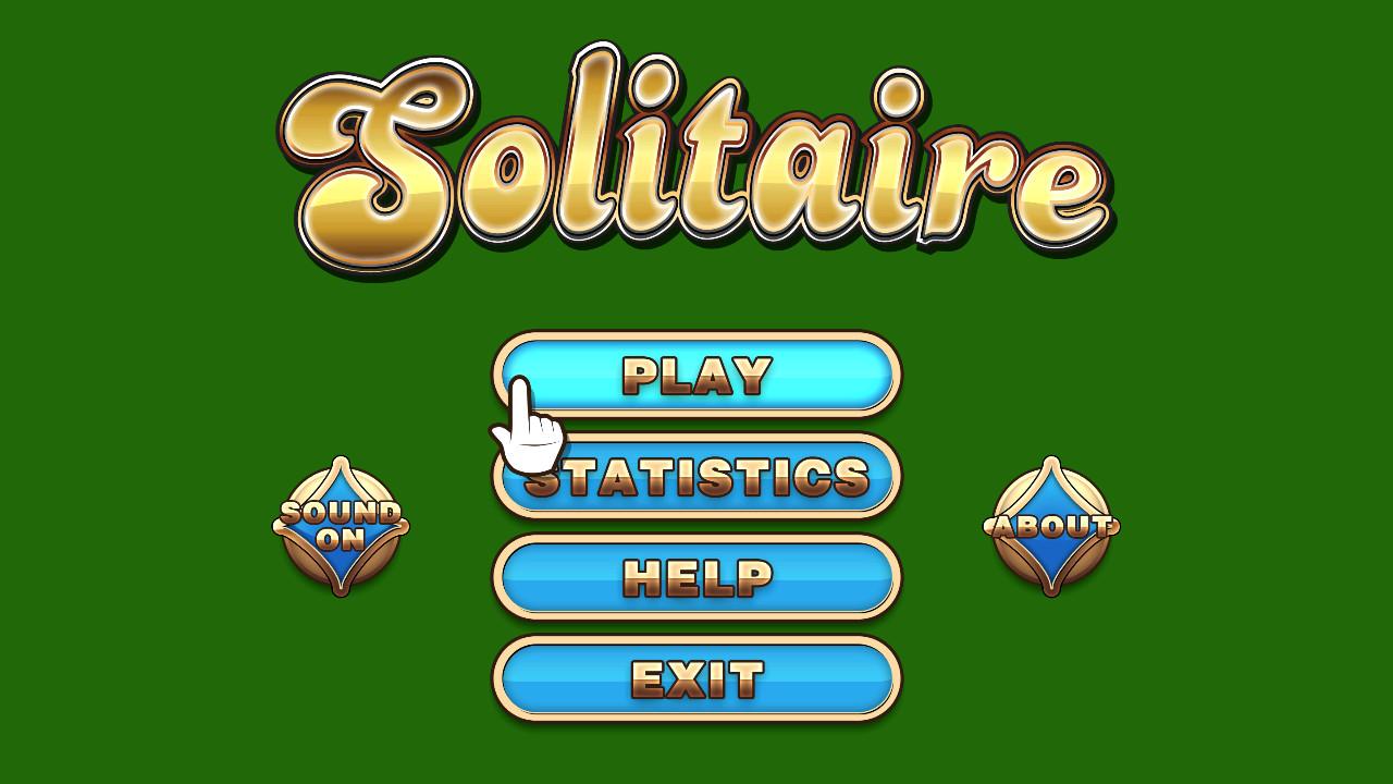 Screenshot of Solitaire Classic