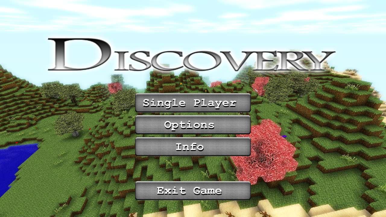 Screenshot of Discovery