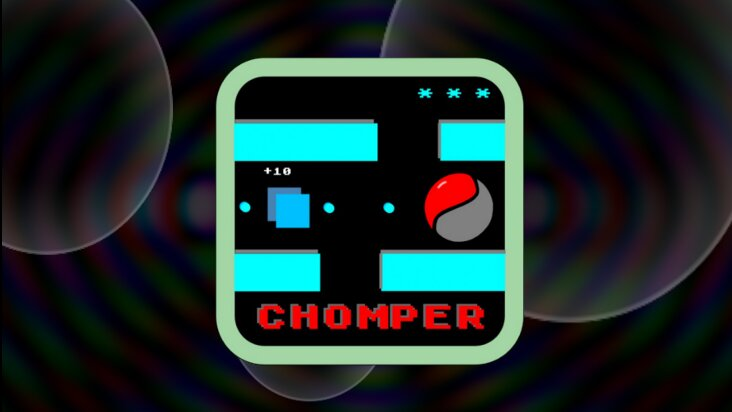 Screenshot of ../game/com.omgwtfgames.chomper.htm