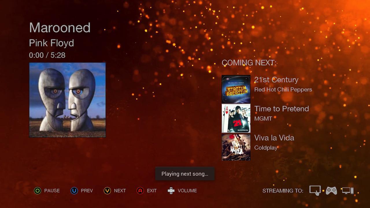 Screenshot of OnAir Player