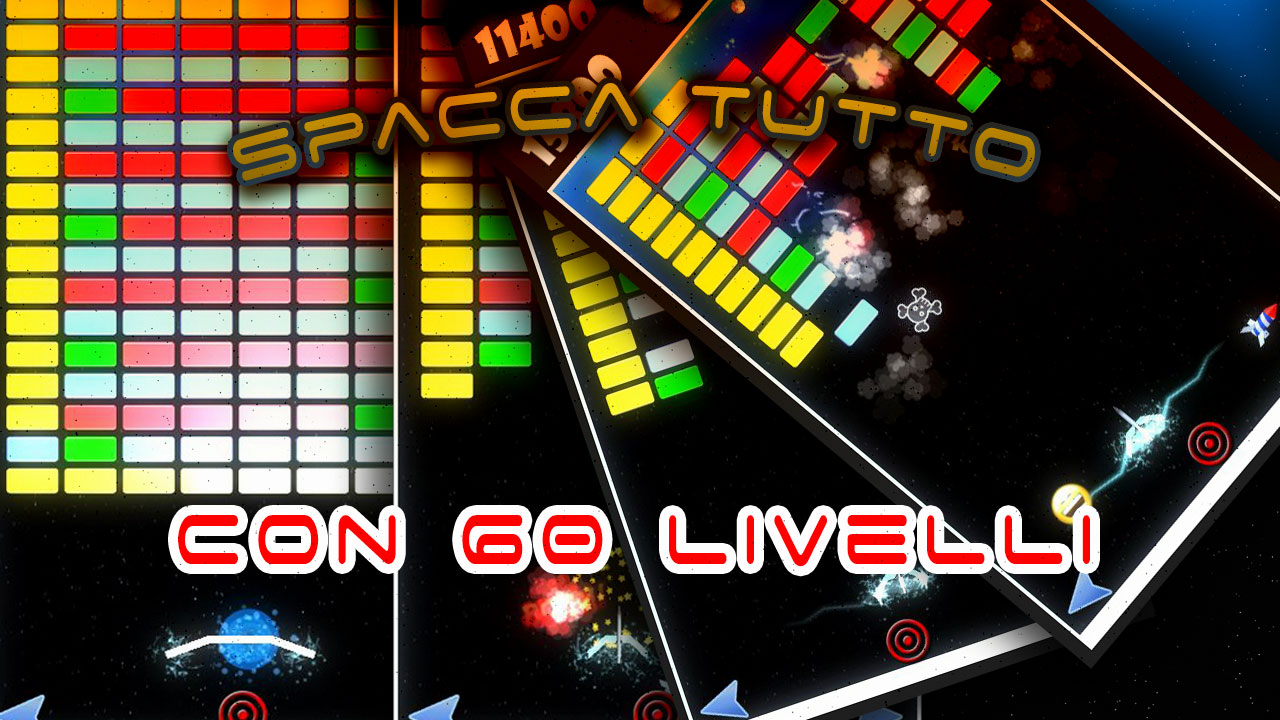 Screenshot of SPACCA TUTTO (Breakout Style)