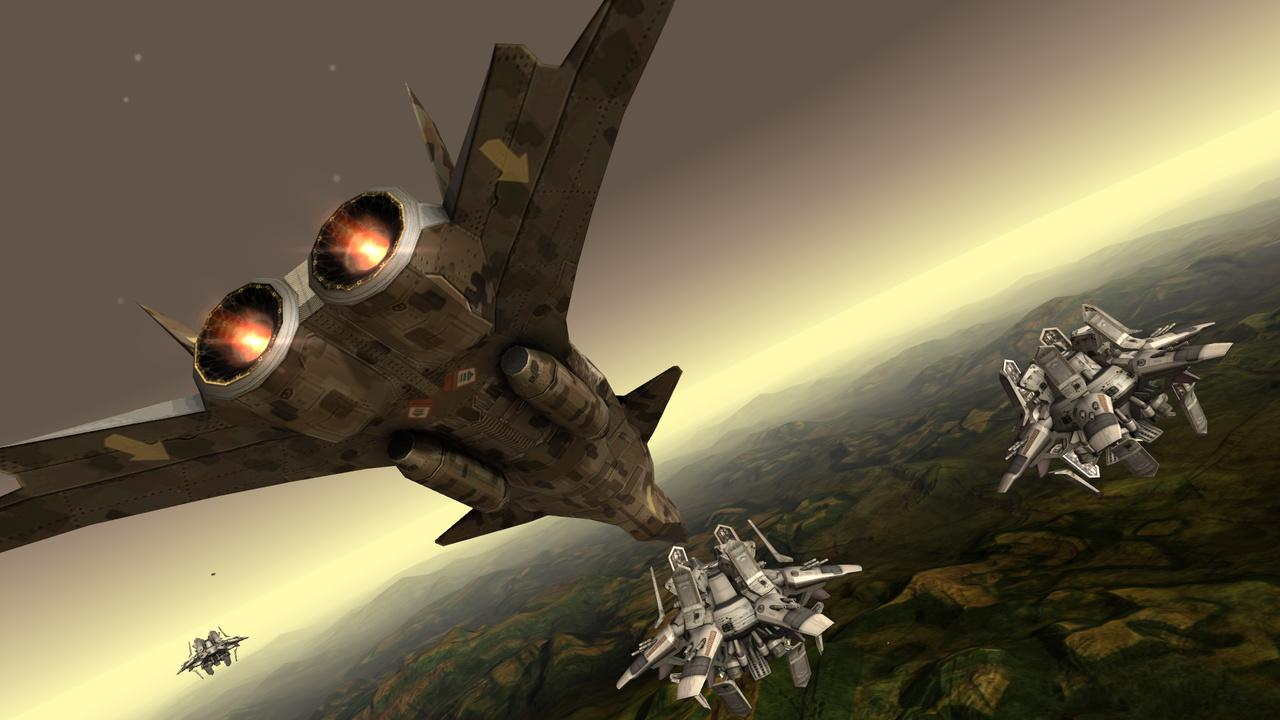 Screenshot of Fractal Combat X