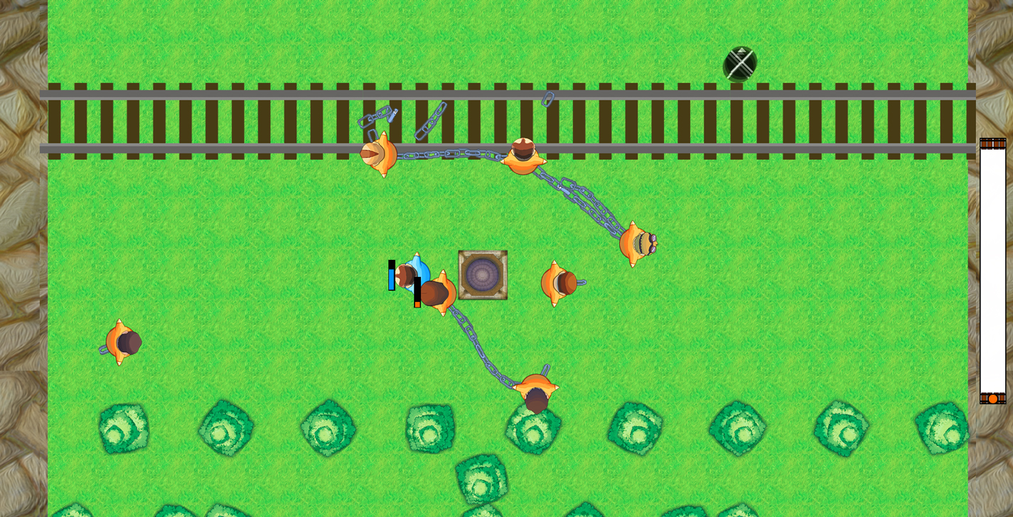 Screenshot of Chain Gang Chase