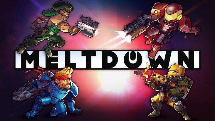 Screenshot of Meltdown