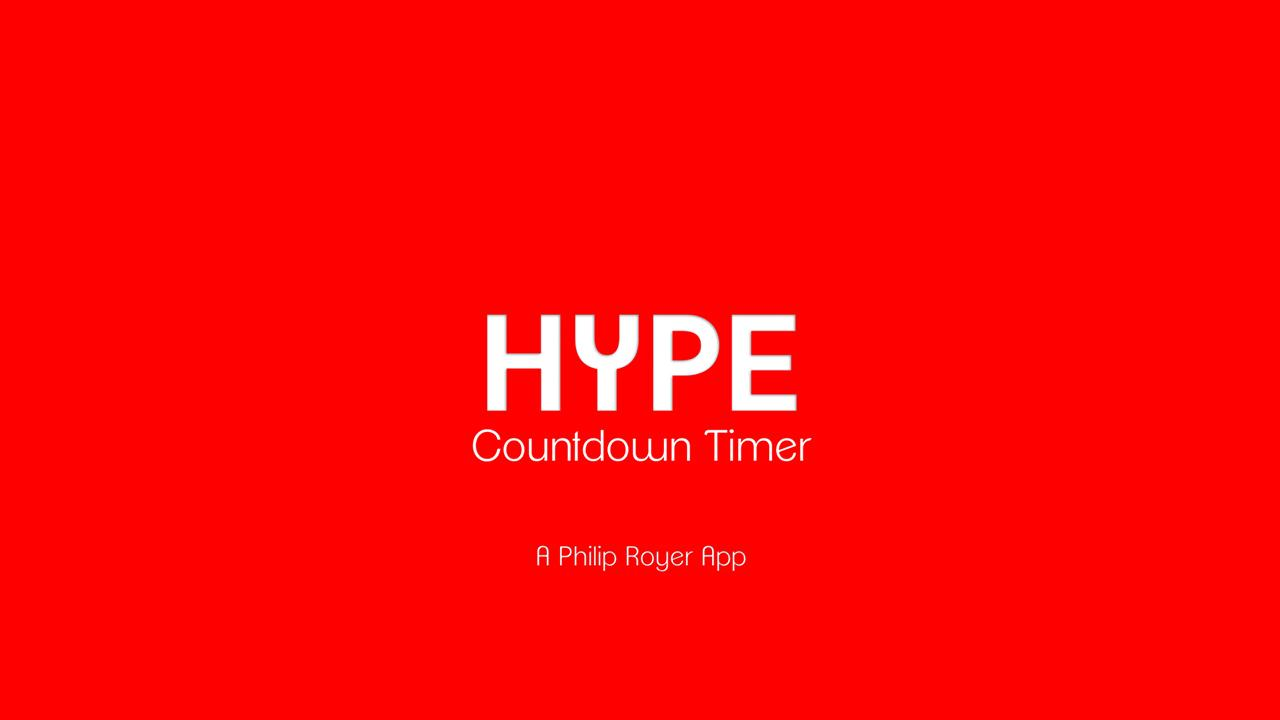 Screenshot of Hype