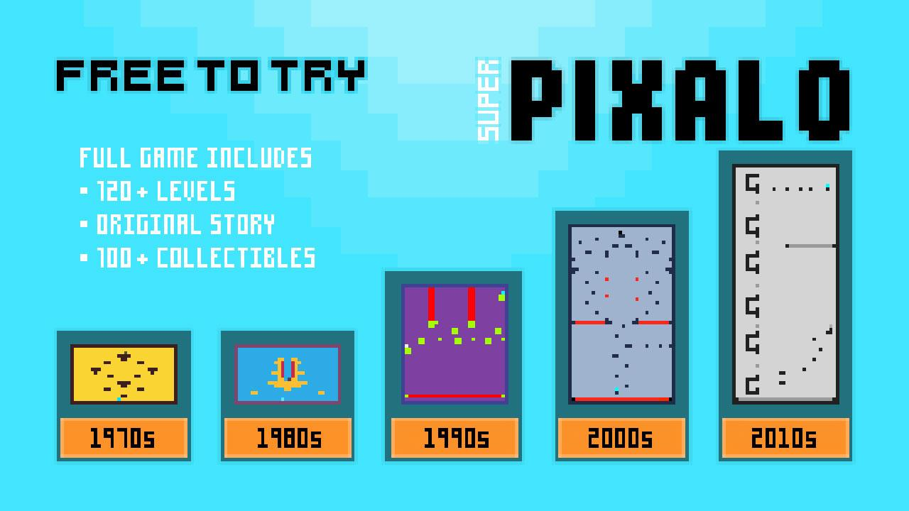 Screenshot of Super Pixalo
