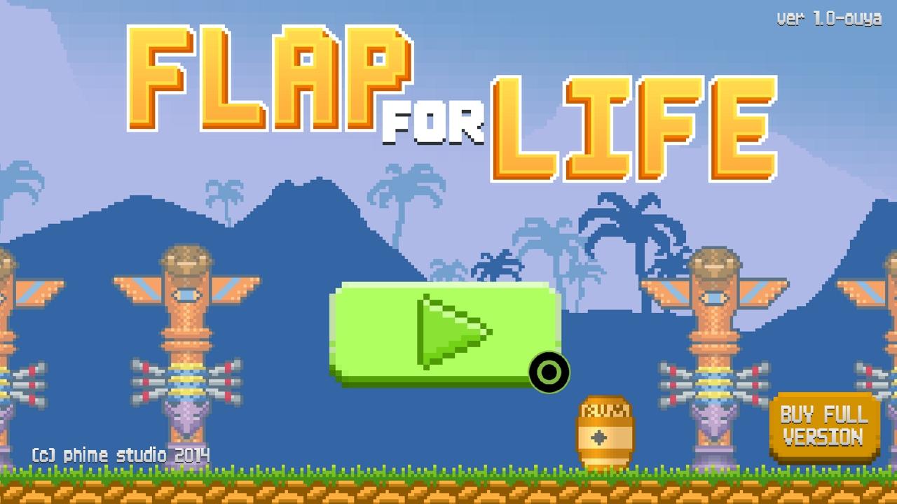 Screenshot of Flap For Life