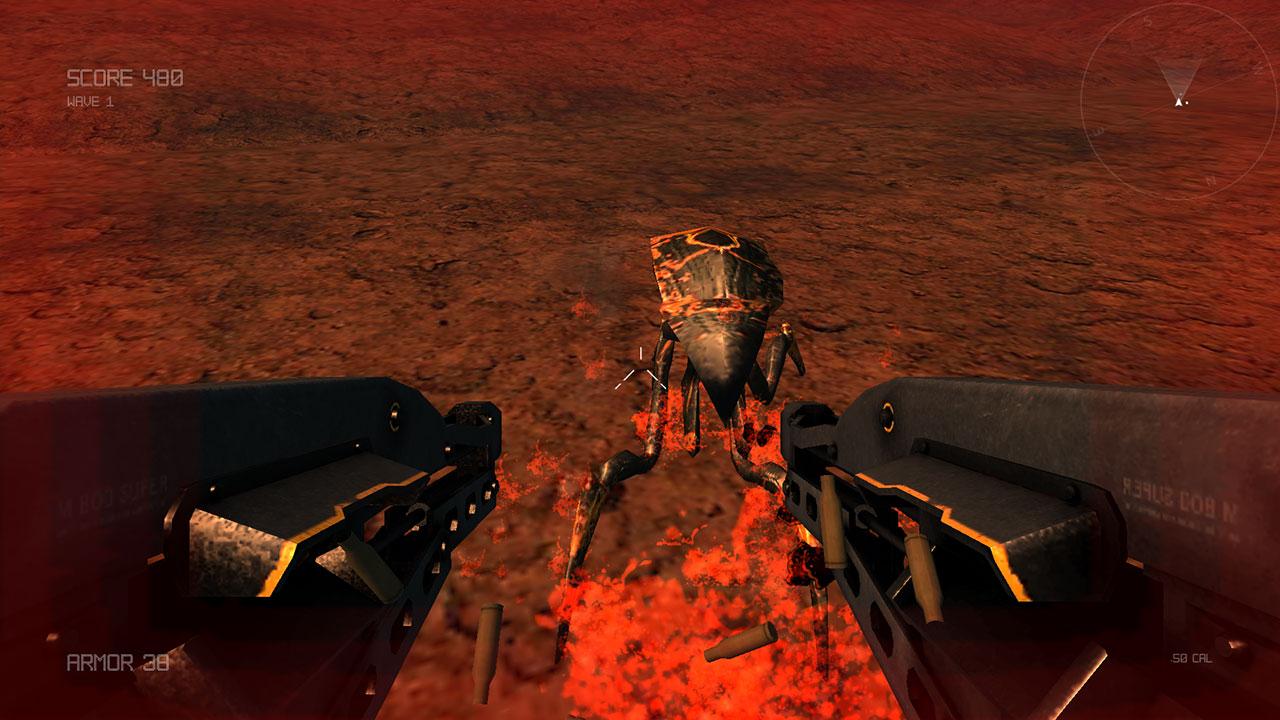 Screenshot of Alien Violator