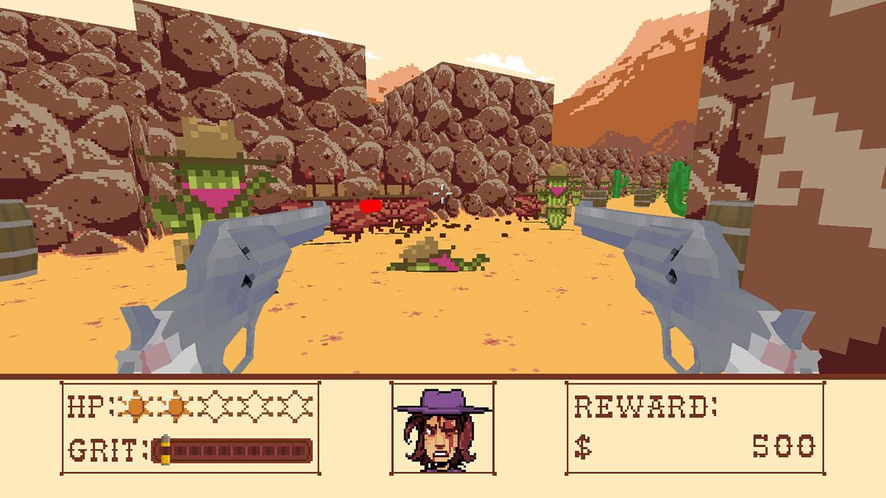 Screenshot of Cactus Sam