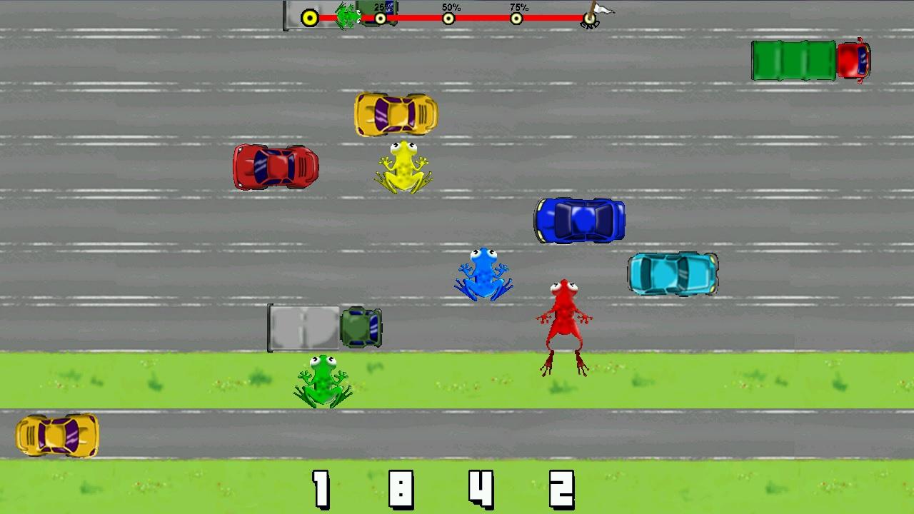 Screenshot of PiX Frogger