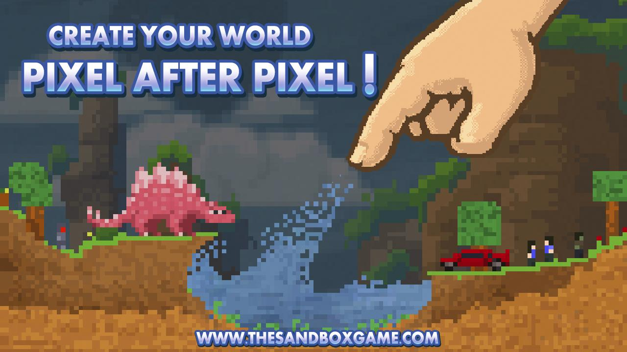 Screenshot of The Sandbox