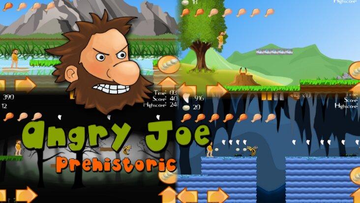 Screenshot of ../game/com.plateaugroup.angrycaveman.htm