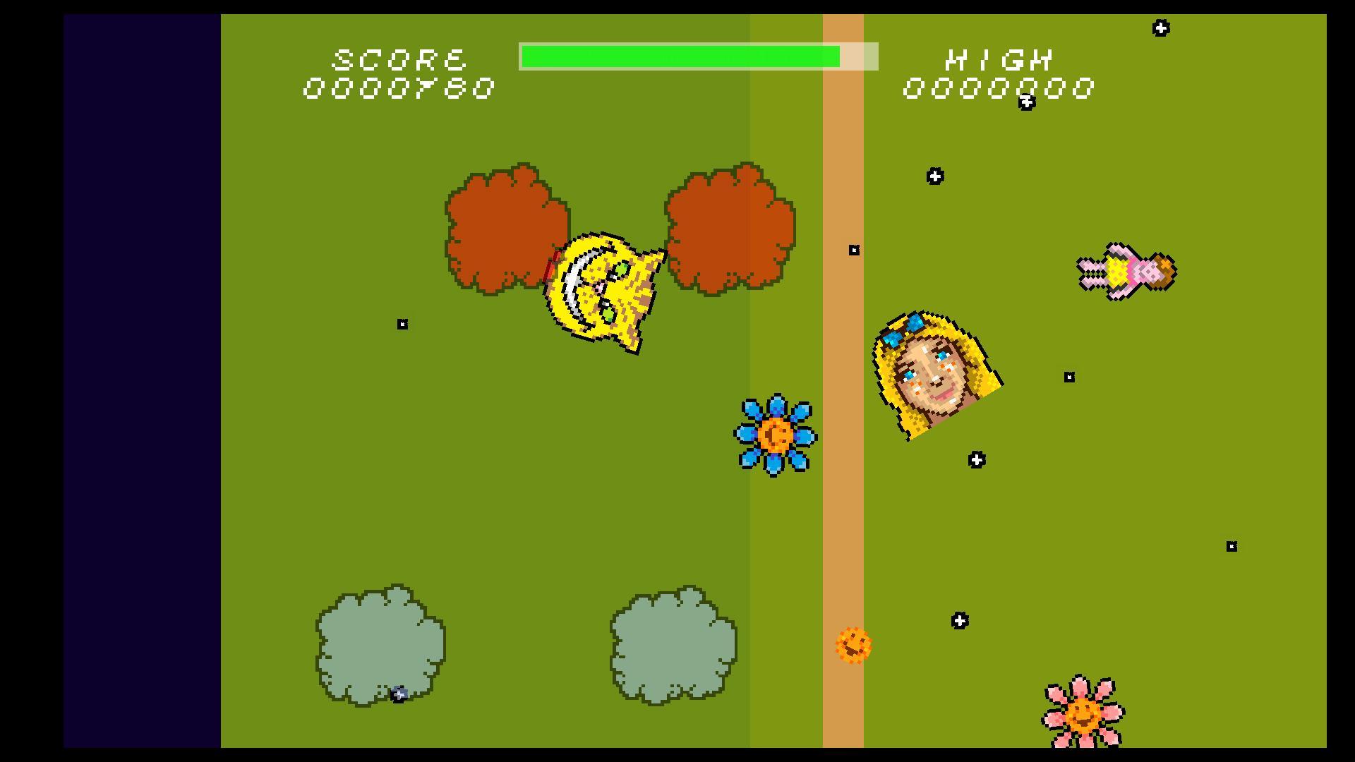 Screenshot of Cheshire's Cheese Nightmares