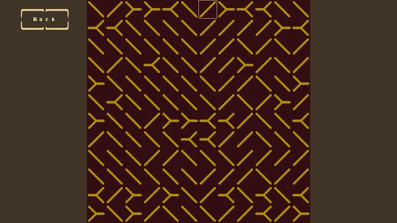 Screenshot of Dizzying Symmetry