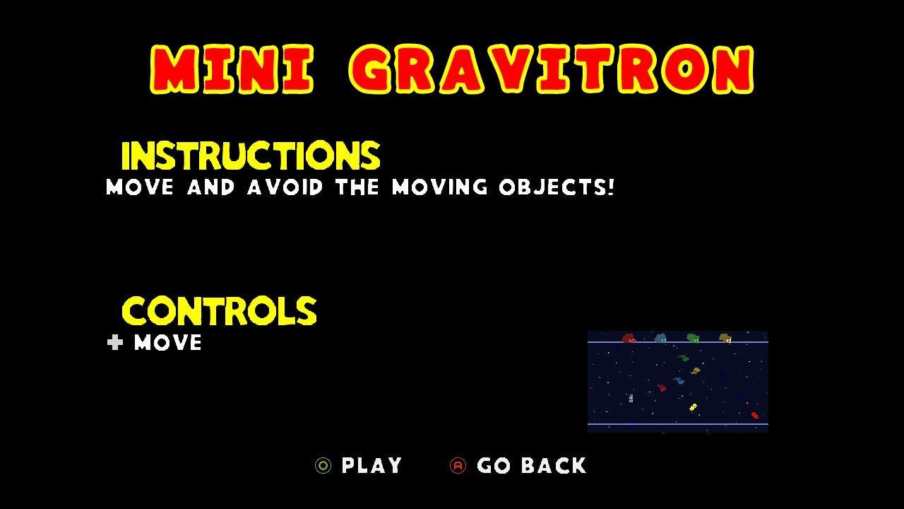Screenshot of XD: MiniGravitron feat. VVVVVV