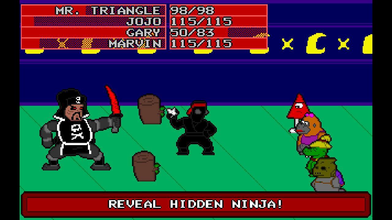Screenshot of Mr. Triangle's Adventure