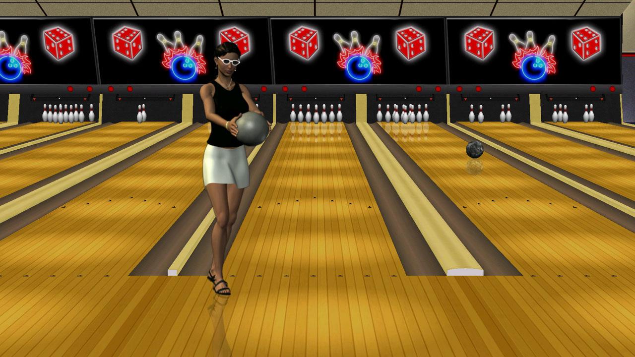 Screenshot of Vegas Bowling