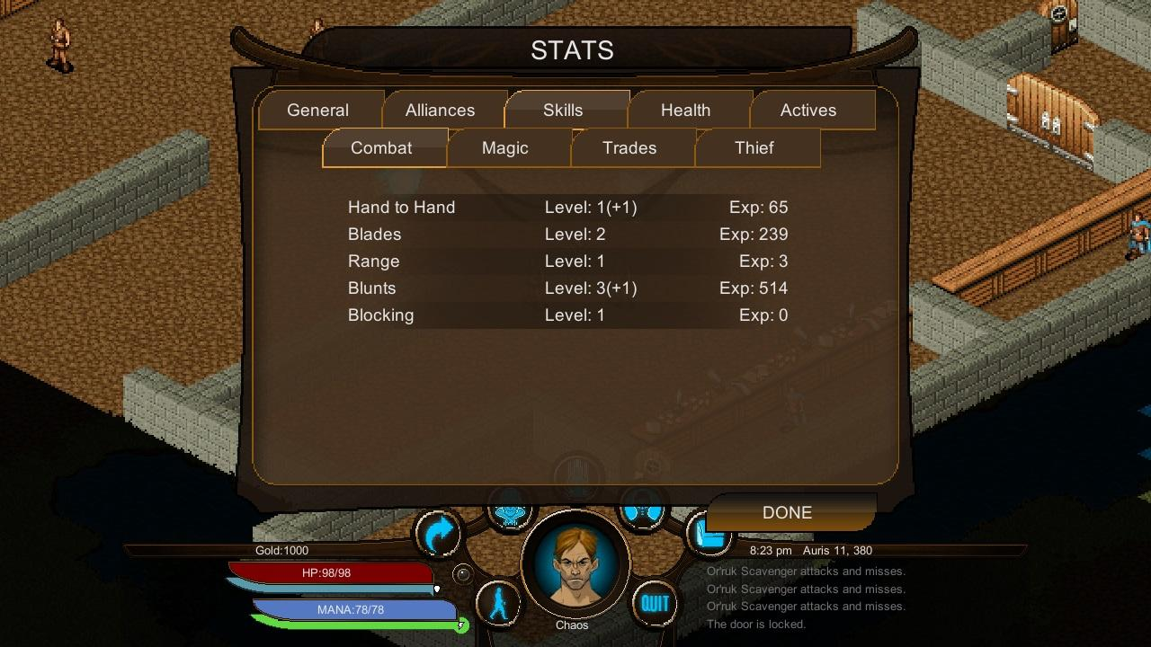 Screenshot of Dusk