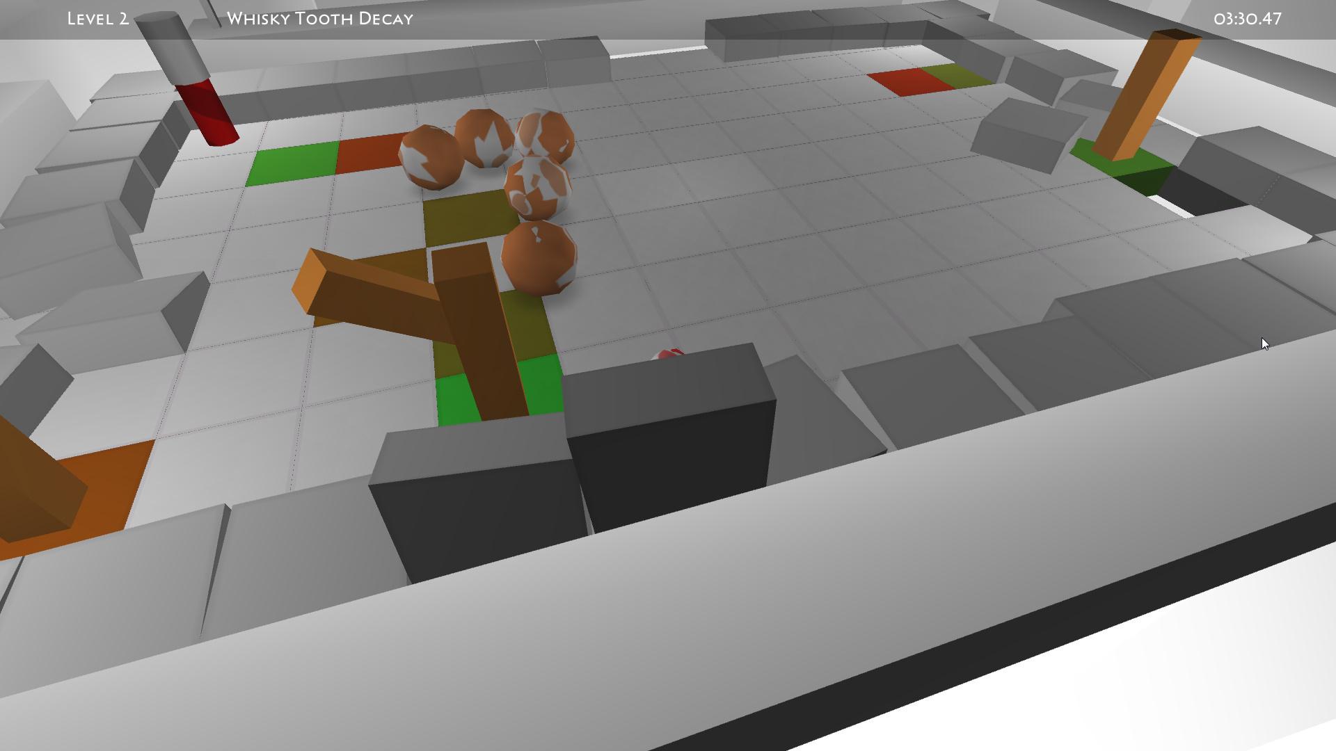 Screenshot of Survival Ball