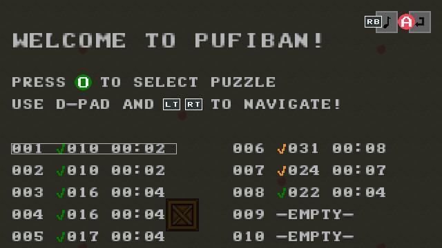 Screenshot of Pufiban