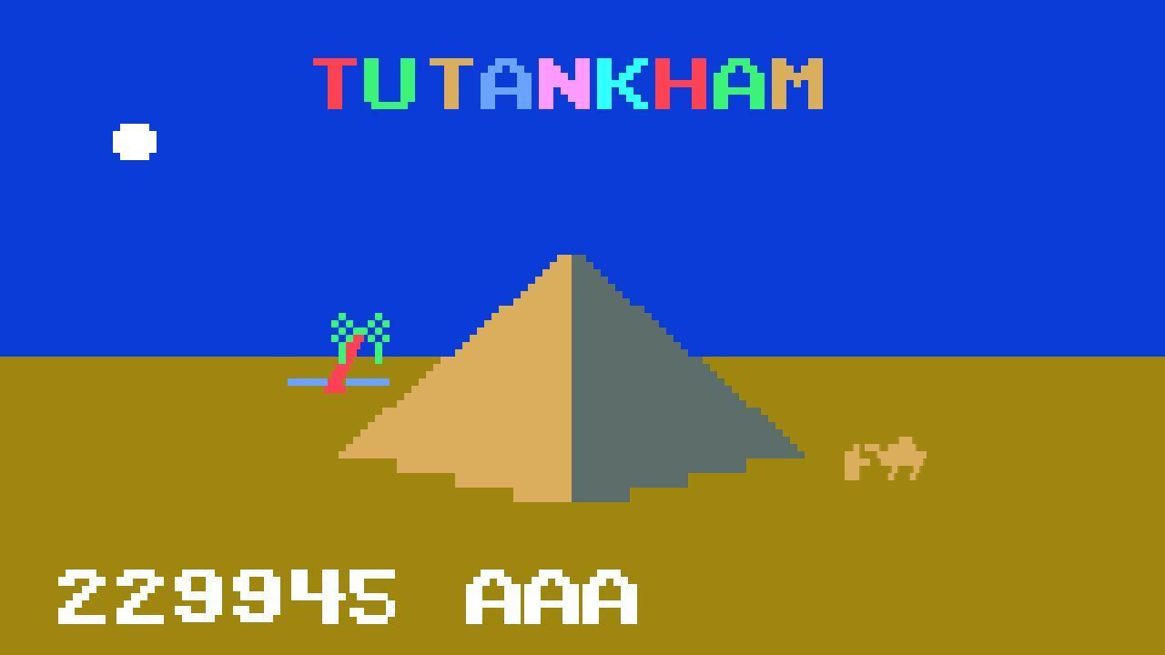 Screenshot of Tutankham