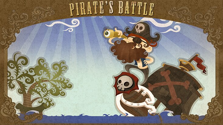 Screenshot of ../game/com.seedstudio.PiratesBattleOUYA.htm