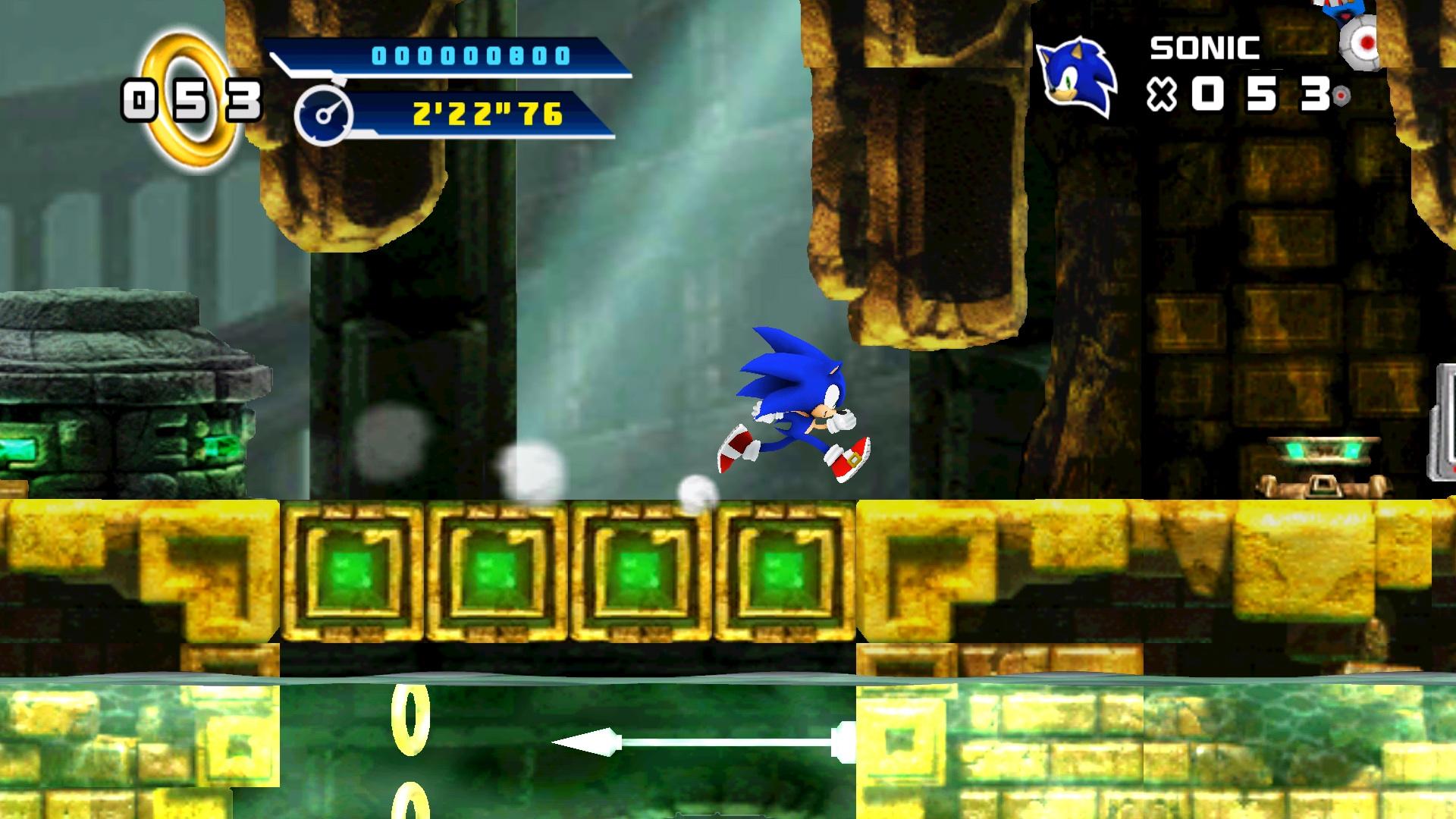Screenshot of Sonic The Hedgehog 4 Episode I