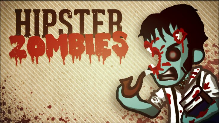 Screenshot of ../game/com.sharkbombstudios.hipsterzombies.htm