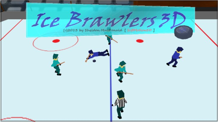 Screenshot of Ice Brawlers 3D