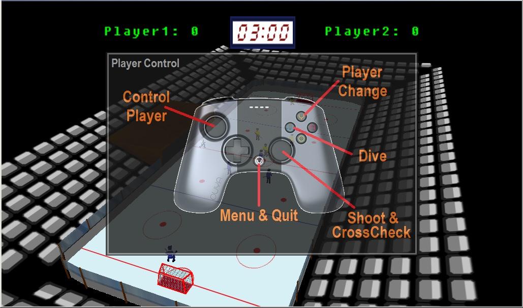 Screenshot of Ice Brawlers 3D