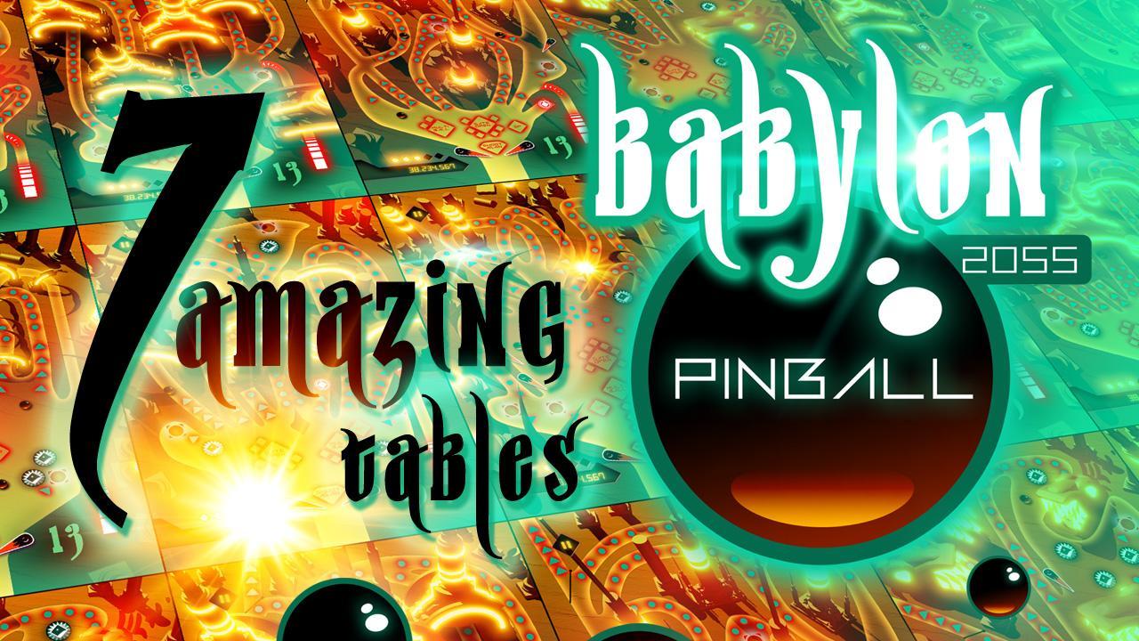 Screenshot of Babylon 2055 Pinball