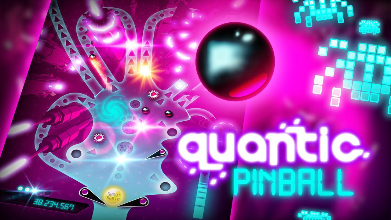 Screenshot of Quantic Pinball