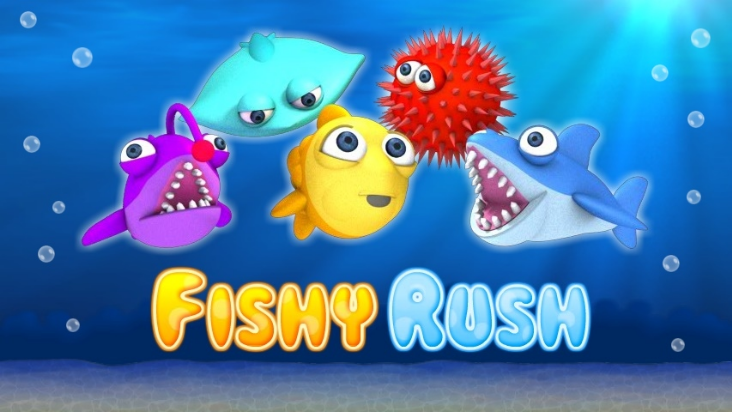 Screenshot of ../game/com.silengames.fishyrush.htm