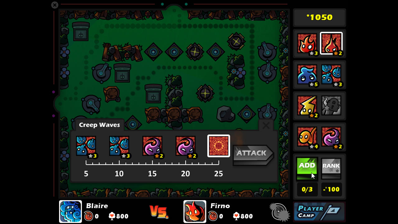 Screenshot of Fire With Fire Tower Attack and Defense: Early Access