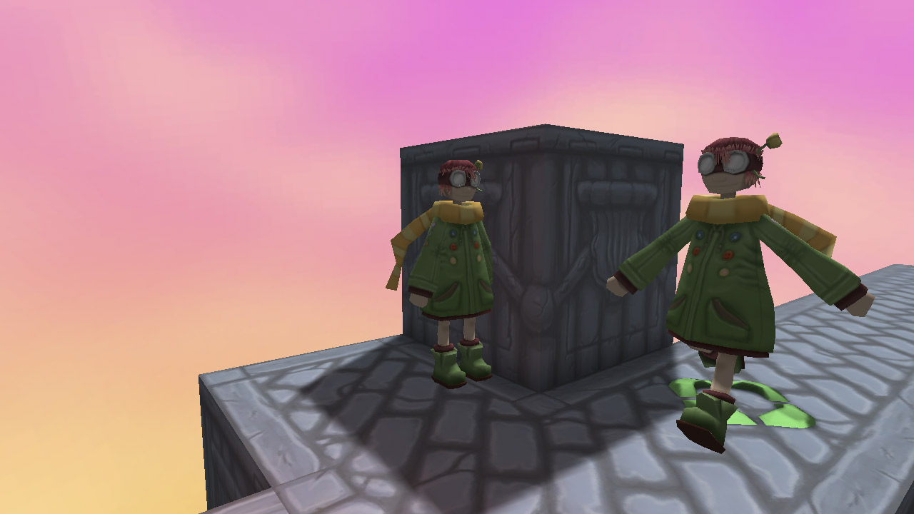 Screenshot of Rose and Time