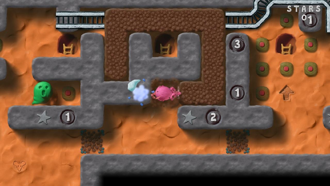 Screenshot of Genius Greedy Mouse