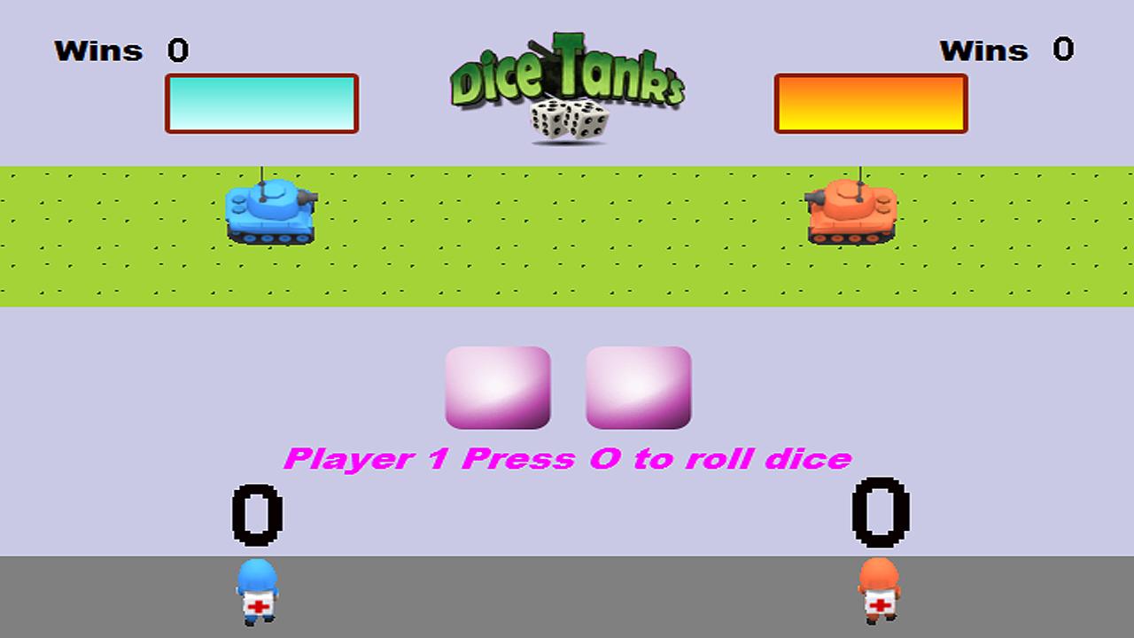 Screenshot of Dice Tanks