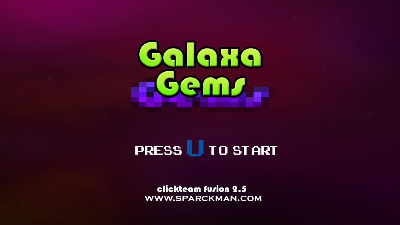 Screenshot of Galaxa Gems
