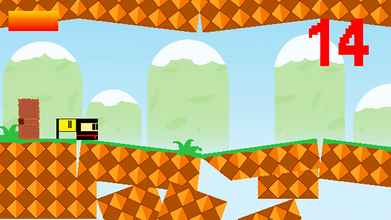 Screenshot of Ninja BlockHead