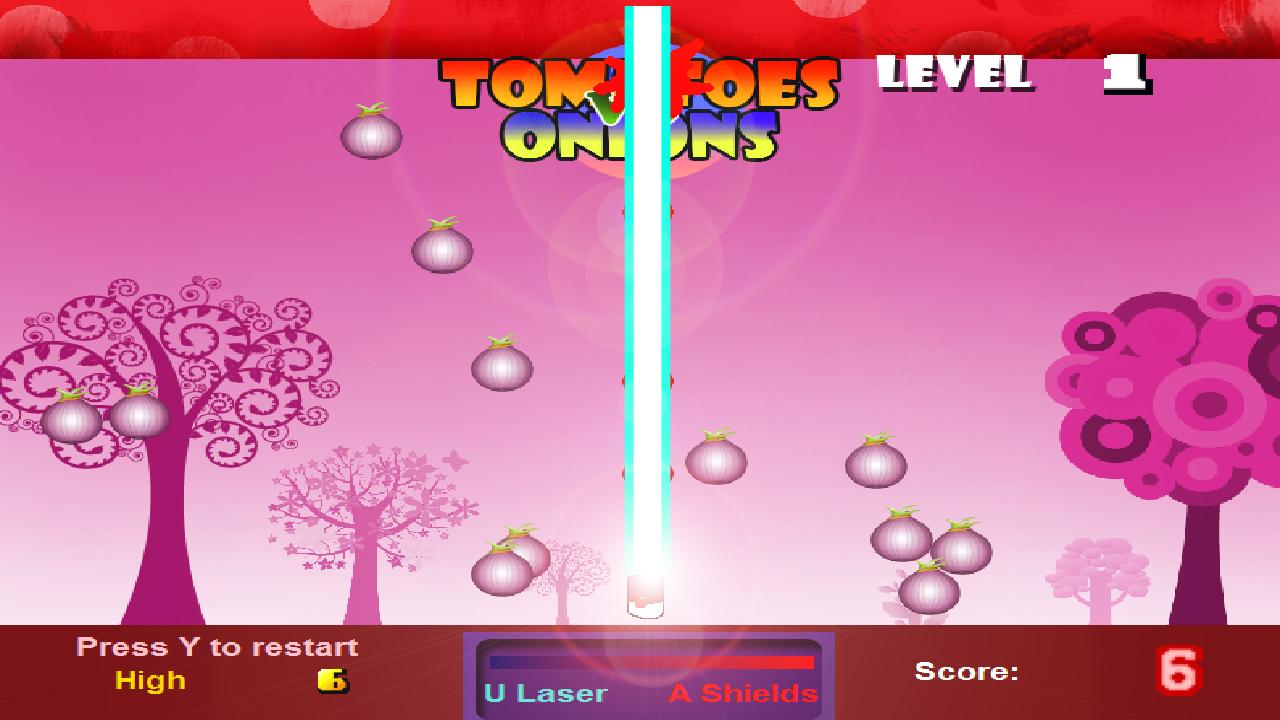 Screenshot of Tomatoes Vs Onions
