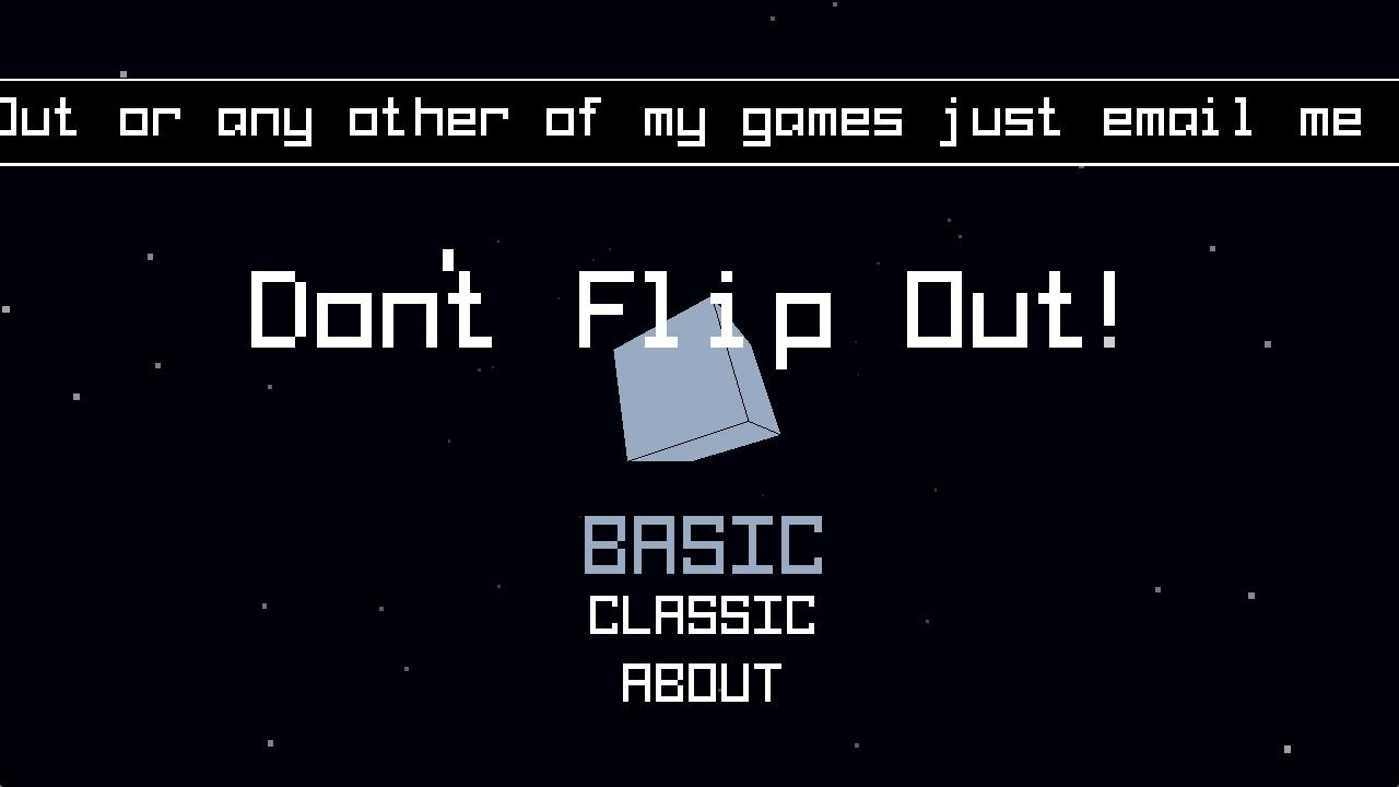 Screenshot of Don't Flip Out