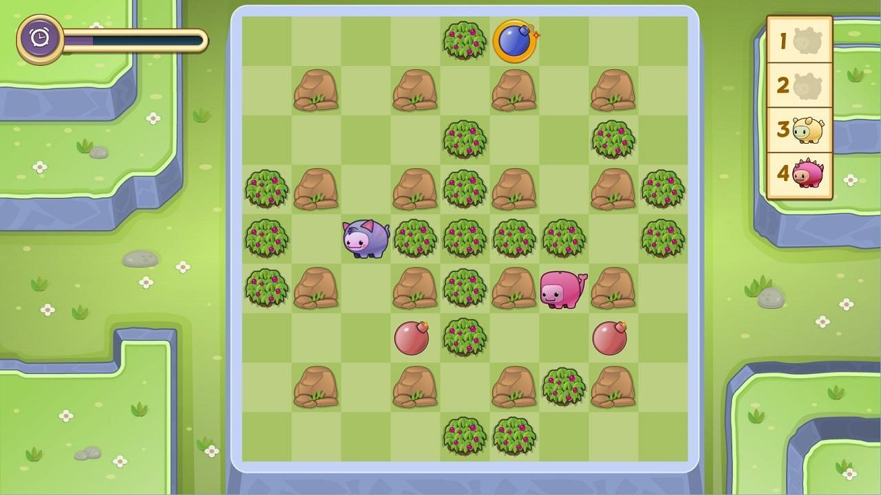 Screenshot of Super Bombnoms - Multiplayer Mayhem